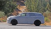 Opel C-Segment CUV Spy Pics