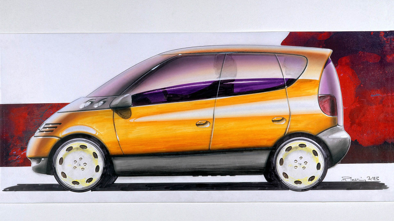 Mercedes A-Klasse: Design-Ideen