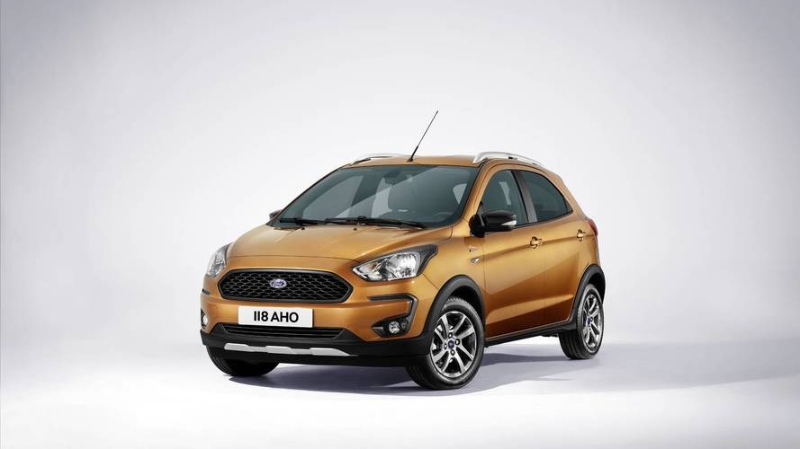 Ford reveals new Ka+ Active 'crossover'
