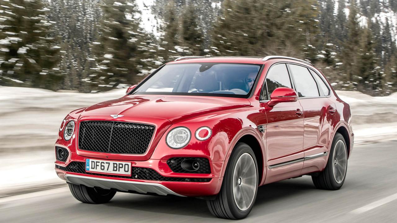 MLB: Vom Audi A4 bis zum Bentley Bentayga