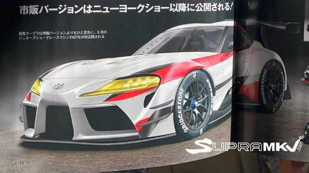 New Toyota Supra Leaked In A Japanese Magazine?