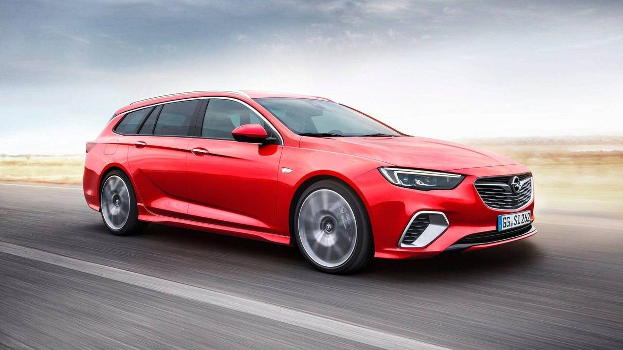 Break - Opel Insignia GSi Sports Tourer