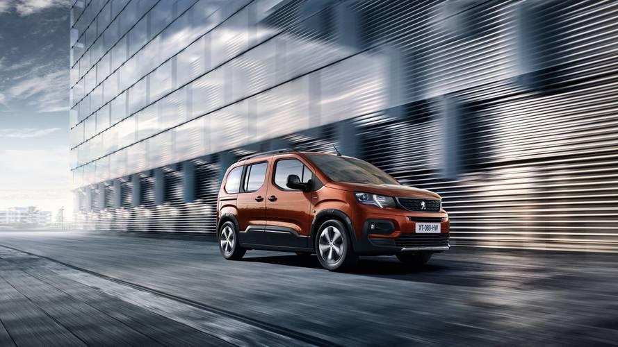 Le nouveau Peugeot Partner (2018) rebaptisé Rifter