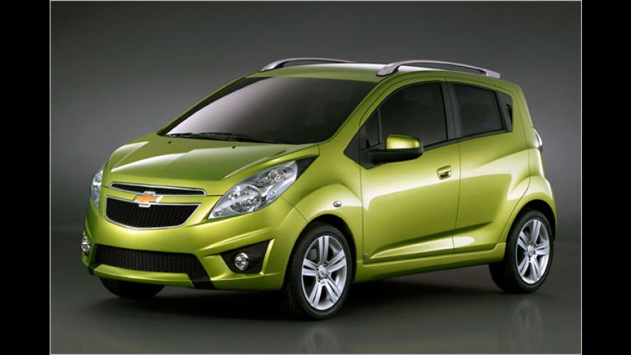 Der Funke zeigt sich: Chevrolet Spark in Genf