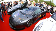 REITER Lamborghini LP670 R-SV unveiling at 24h of Spa
