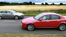 Alfa 159 Lusso and 159 TI sportwagen