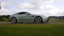 Aston Martin V12 Vantage in Hardly Green