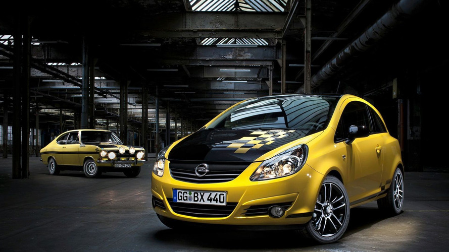 Opel Corsa Color Race Honors the 1971 Rallye Kadett B Sprint [Video]