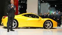 Ferrari 458 Italia live in Frankfurt