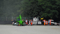 Lewis Hamilton (GBR), McLaren Mercedes goes out of the track - Formula 1 World Championship, Rd 14, Italian Grand Prix, 12.09.2010 Monza, Italy,