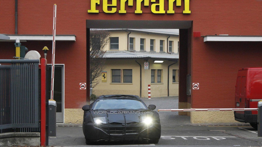 Ferrari 599 successor spy video