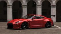 Nissan GT-R w/ 1000 HP by BenSopra