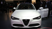 Alfa Romeo Giulia live in Geneva