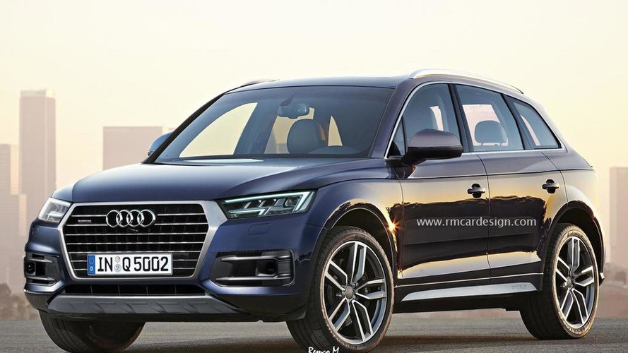 2016 Audi Q5 virtually imagined prior to next year premiere