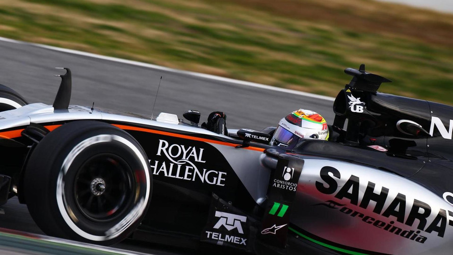 Early points unlikely for Force India - Perez