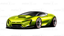 Un design fantaisiste de NASCAR pour l'avenir
