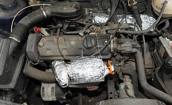 Learn to Cook Dinner Using Your Engine Block