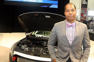 888HP Bisimoto Sonata Rocks Hyundai SEMA Display