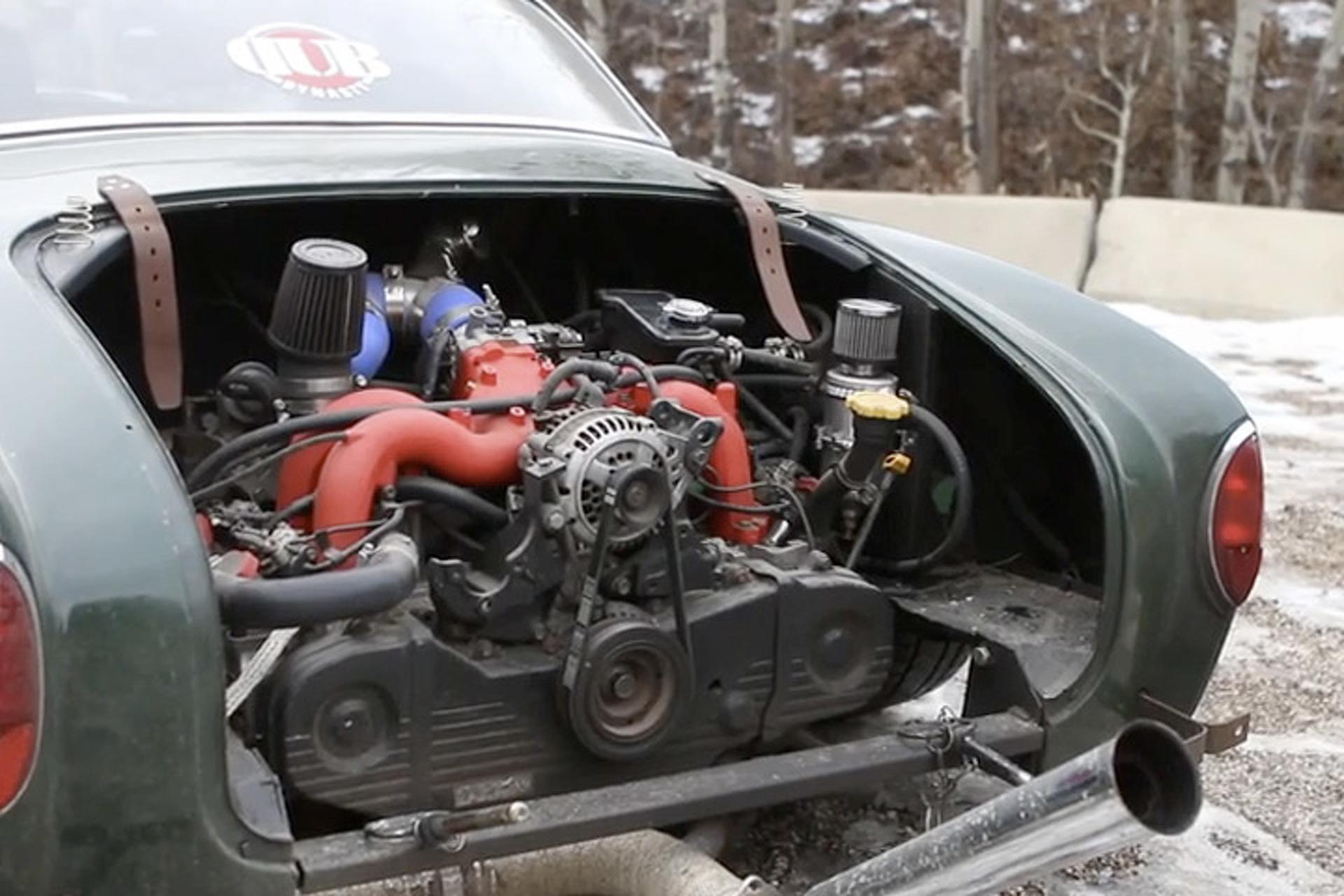 Subaru Swapped Karmann Ghia is one 'Cool' Daily Driver