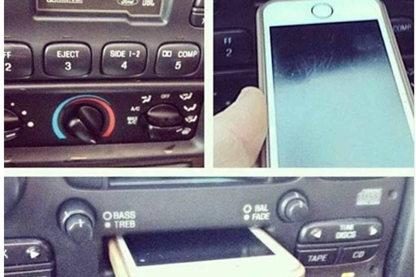 Young Driver Jams iPhone into Tape Deck, Dilutes Our Faith in Mankind
