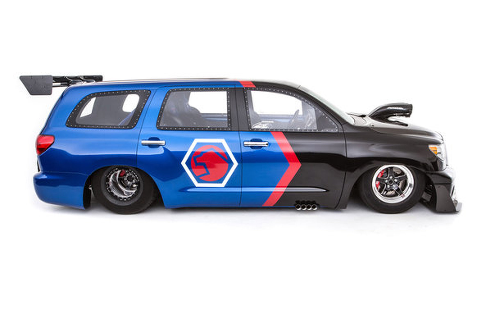 "Toyota ""DragQuoia"" for SEMA is Completely Revolting- but for Charity"
