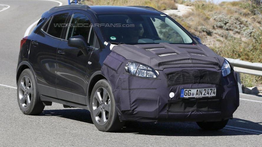 Opel Mokka facelift returns in new spy photos