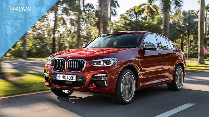 BMW X4, sua altezza la sportività in formato SUV-coupé