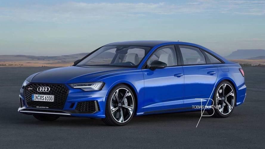 Audi RS6 Sedan render'ları ortalığı karıştıracak