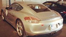 2013 Porsche Cayman spy photo 16.11.2012