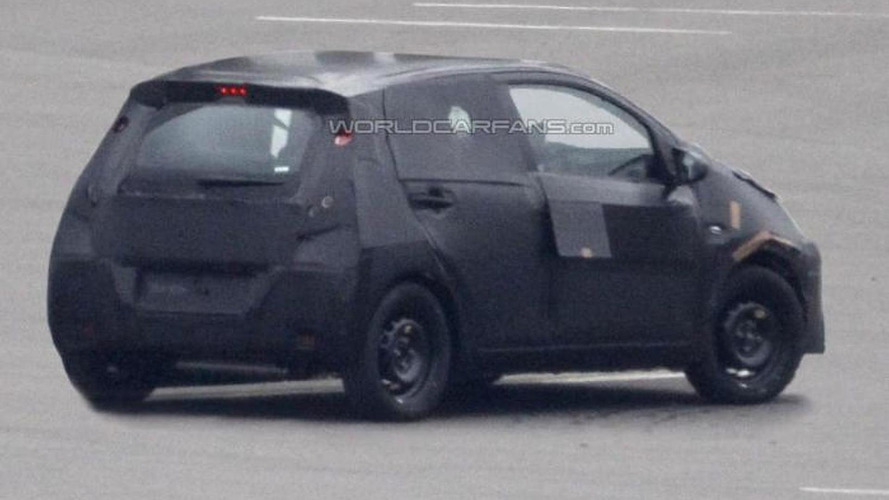 Next-gen Toyota Aygo spied for the first time