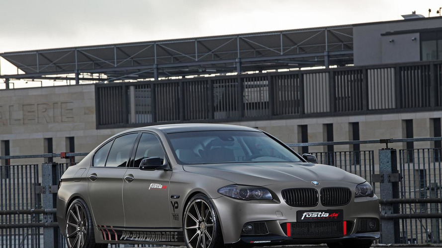 BMW 550i tuned to 570 HP by PP-Performance