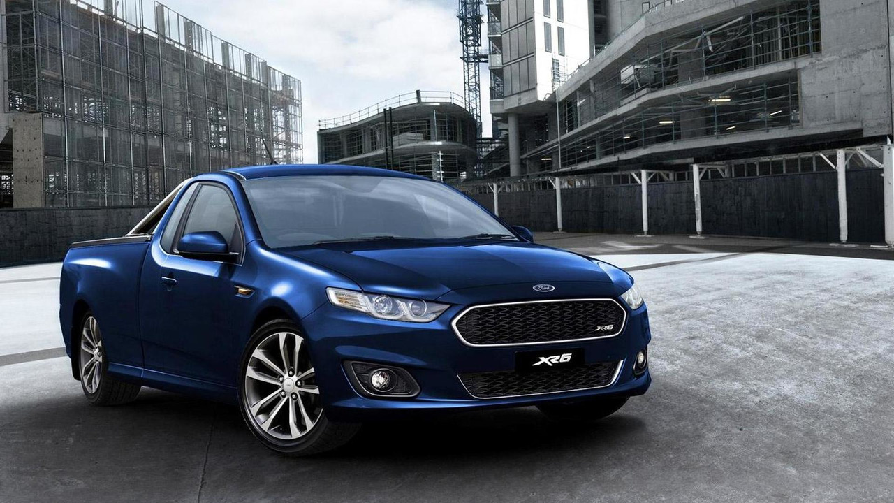 2015 Ford Falcon Ute XR6