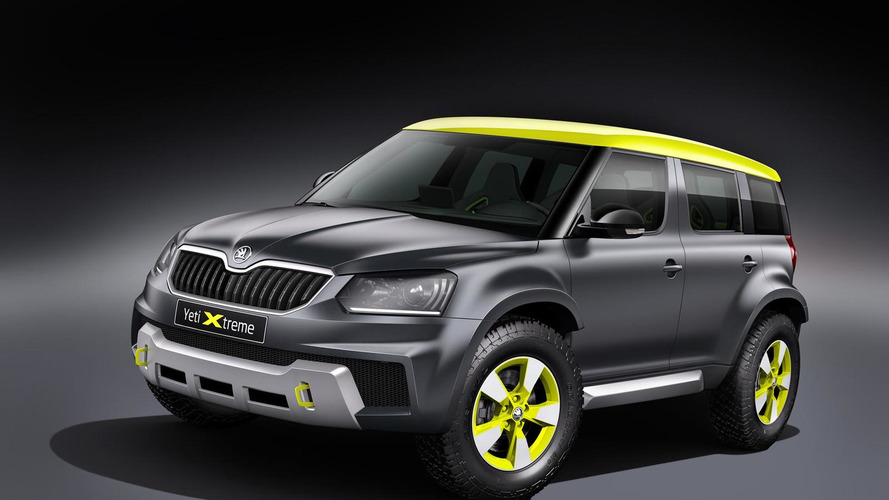 Skoda Yeti Xtreme unveiled with 'rally car ambitions'