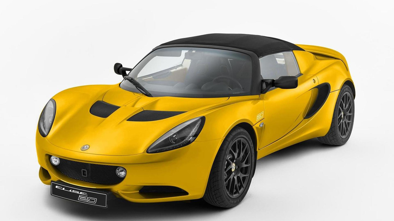 Lotus Elise 20th Anniversary Edition