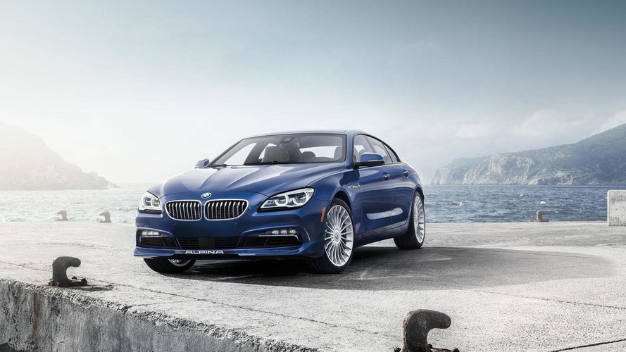2016 BMW ALPINA B6 xDrive Gran Coupe arrives in New York with 600 bhp