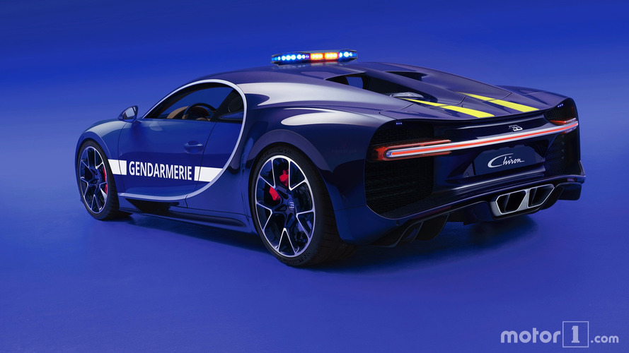 Bugatti Chiron for French police