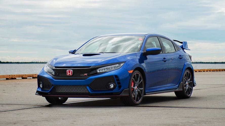 Primeiro Honda Civic Type R para os EUA será leiloado