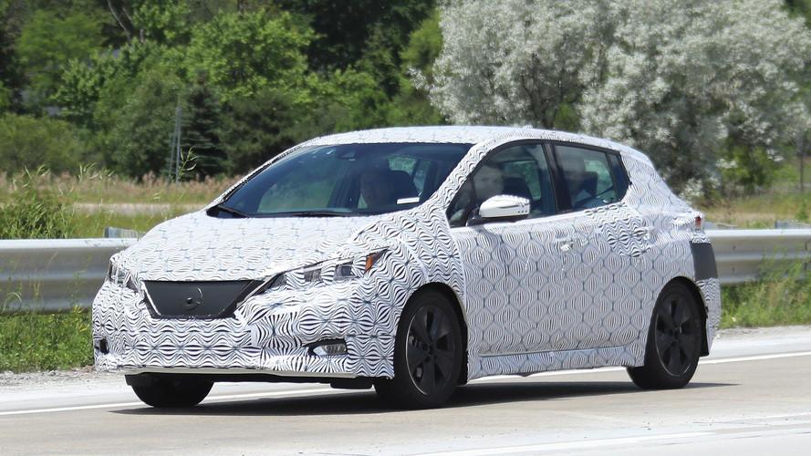 2018 Nissan Leaf baştan aşağıya görüntülendi!