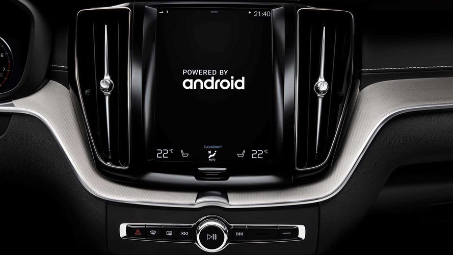 Volvo Partners With Google For Android-Based Car Tech