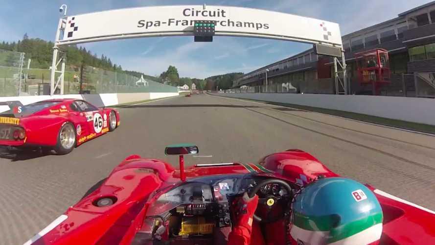 VIDÉO - Une Ferrari 312 PB en folie à Spa-Francorchamps !