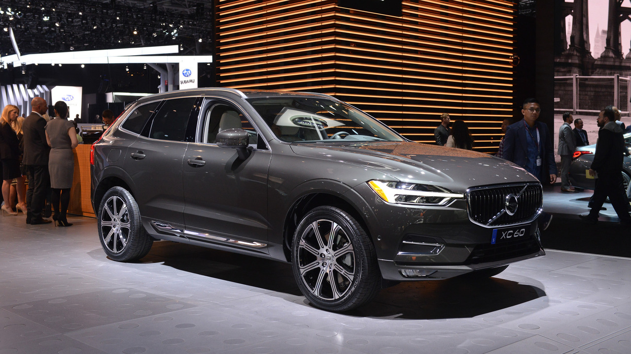 most expensive 2018 volvo xc60 costs 69 490. Black Bedroom Furniture Sets. Home Design Ideas