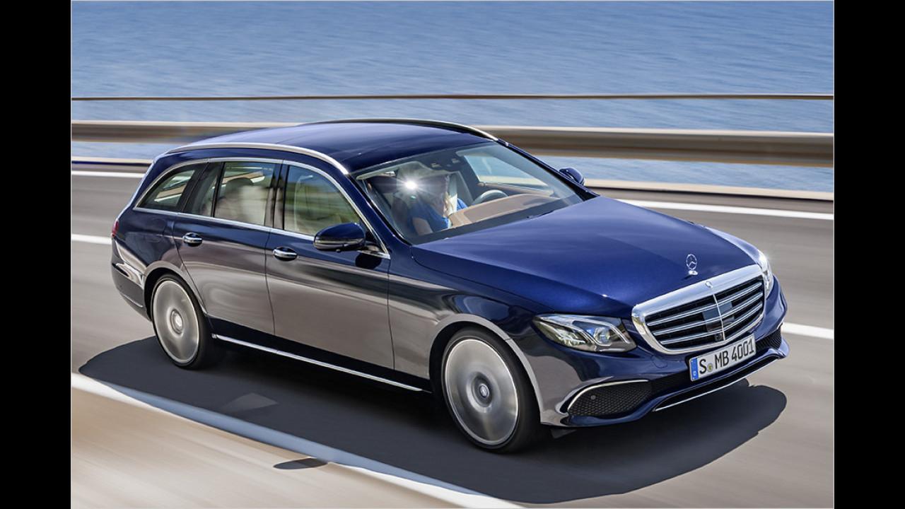 Obere Mittelklasse: Mercedes E-Klasse als Bestseller