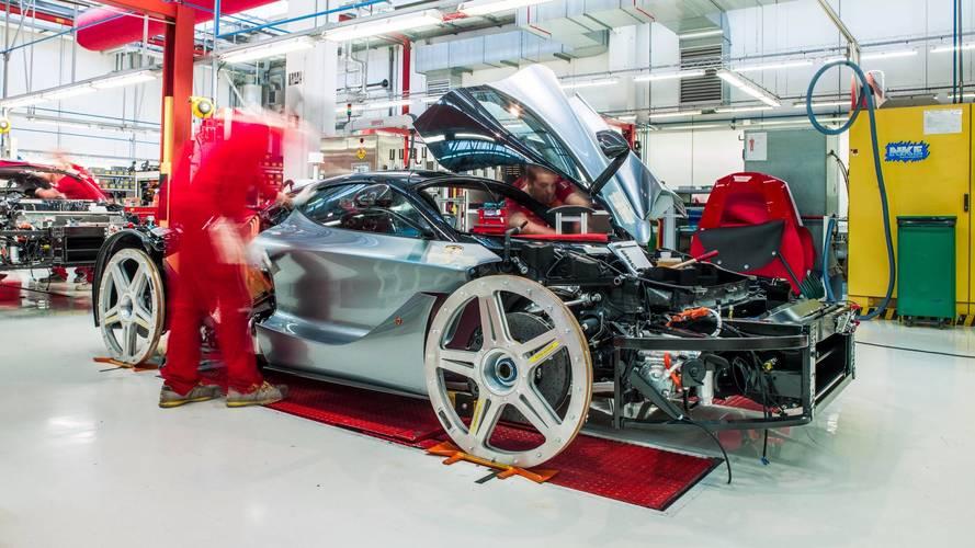 Ferrari augmente sa production à 9000 voitures