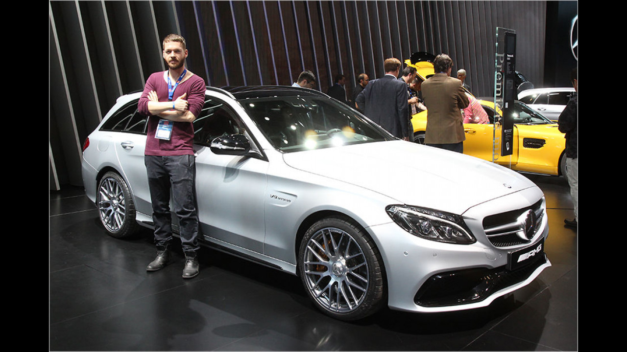 Top: Mercedes-AMG C 63 T-Modell
