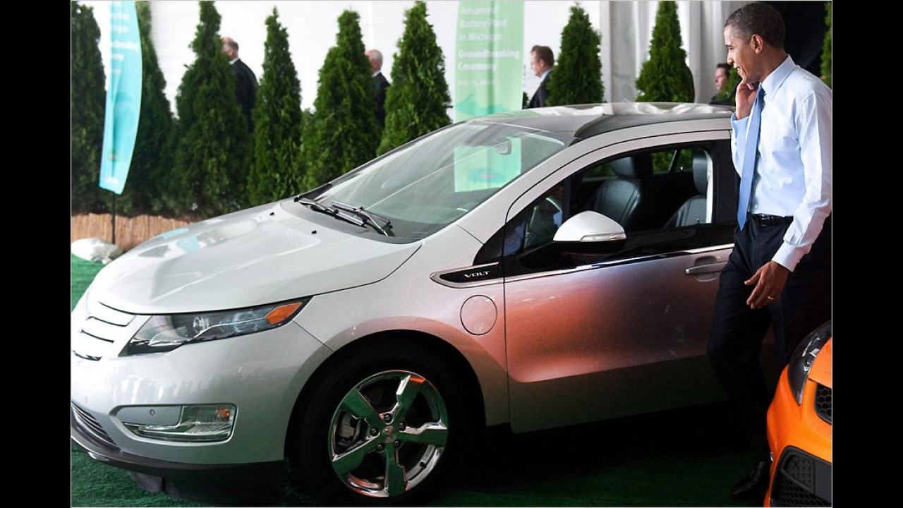 Barack Obama: Chevrolet Volt