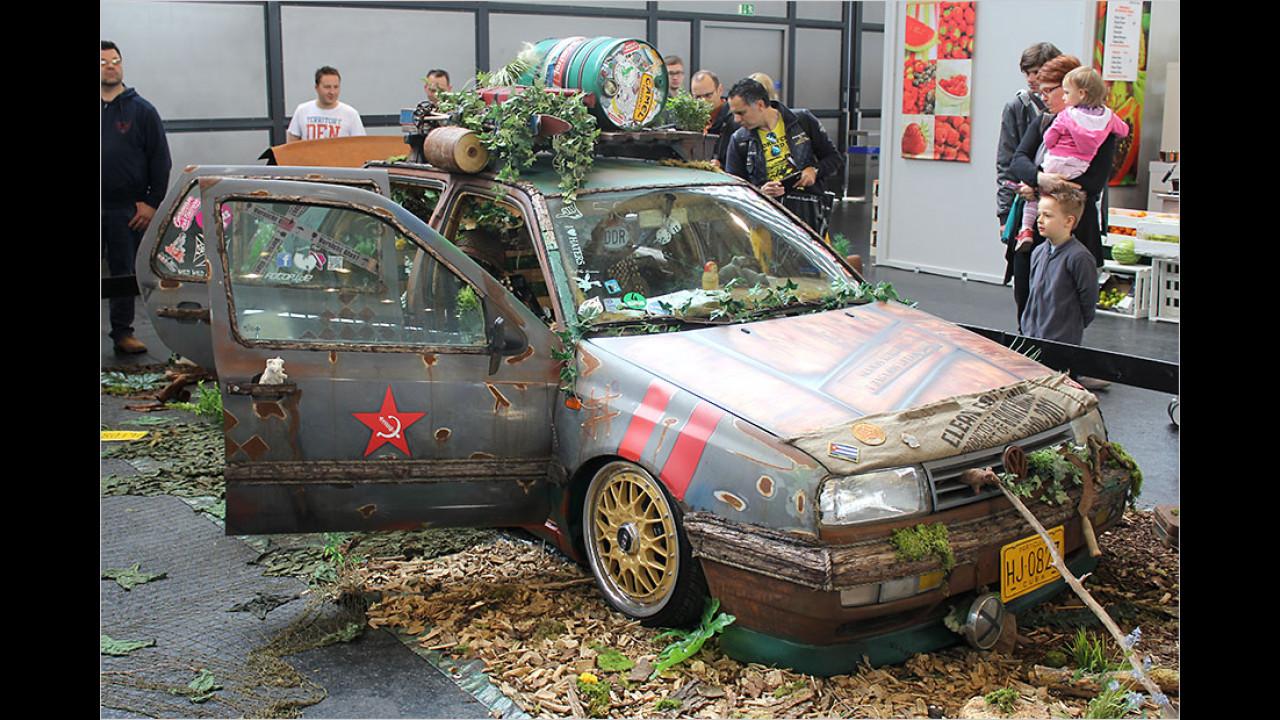 Die verrücktesten Tuning-Autos aus privaten Garagen