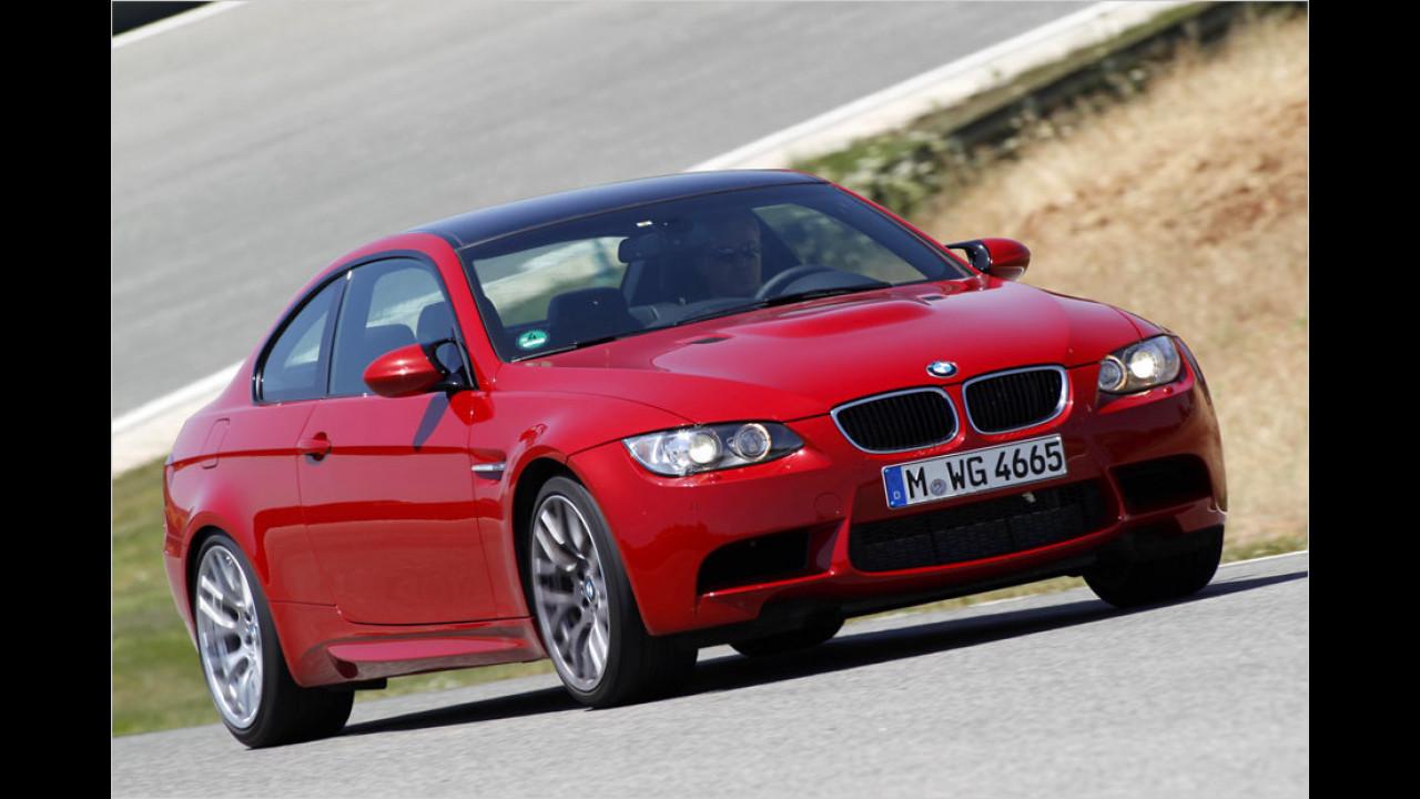 Platz 2: BMW M3 Coupé