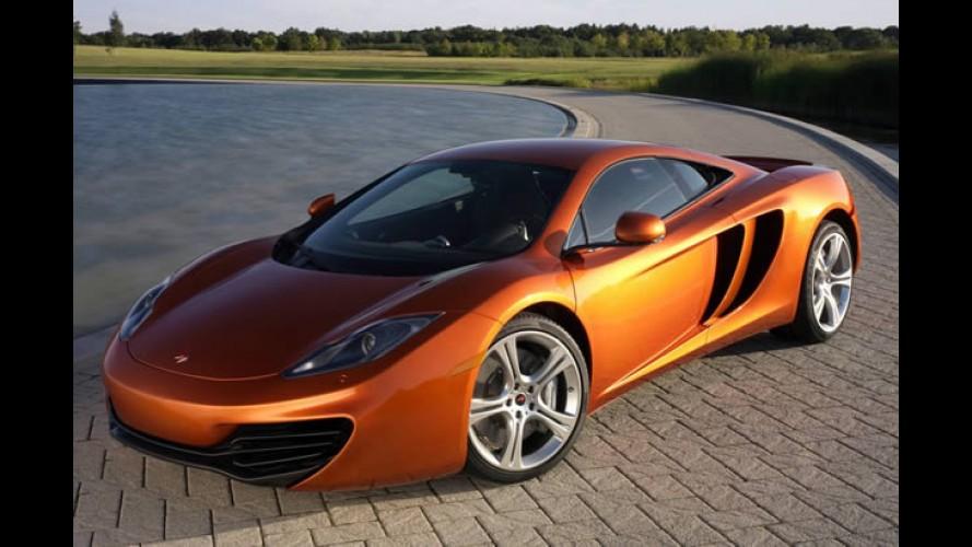 McLaren enfrenta problemas de qualidade e diminui ritmo de produção do MP4-12C
