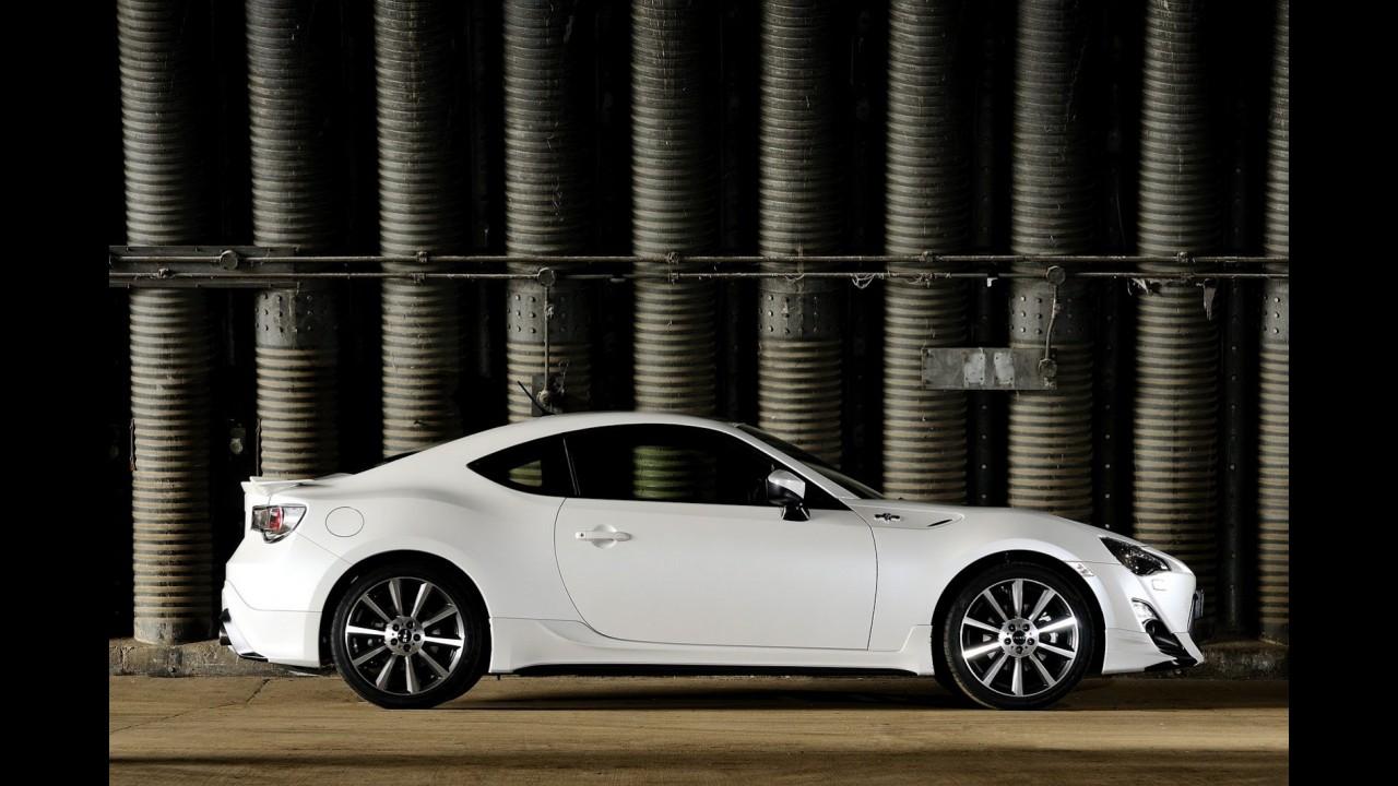 Toyota estuda lançar versão híbrida do GT86