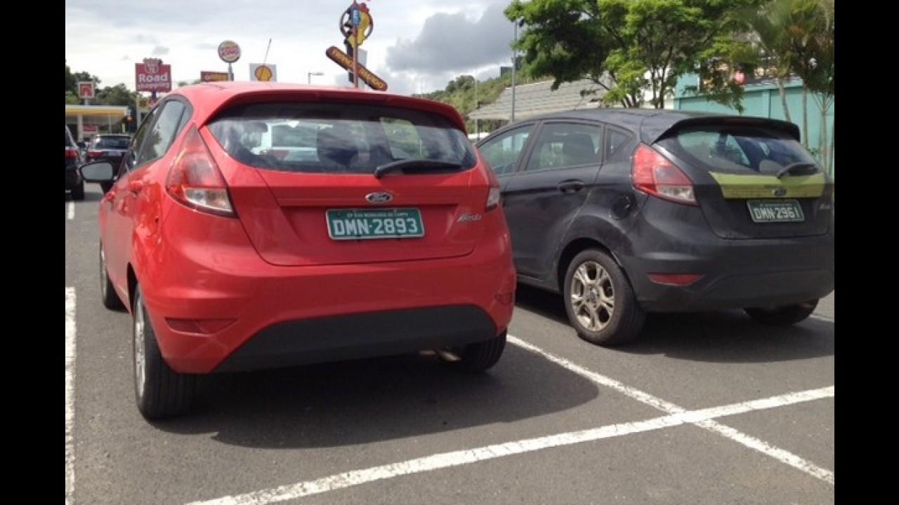Ford New Fiesta nacional é flagrado sem camuflagem às vésperas do lançamento